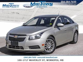 Used 2014 Chevrolet Cruze 4dr Sdn ECO for sale in Winnipeg, MB