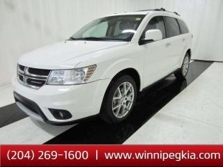 Used 2017 Dodge Journey GT *Accident Free, Seats 7!* for sale in Winnipeg, MB