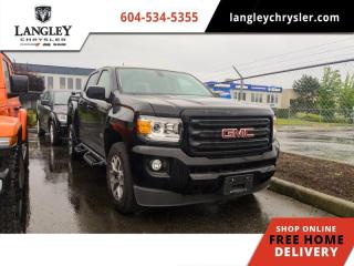 Used 2018 GMC Canyon 4WD SLT  Diesel / All Terrain / Leather / Backup Camera for sale in Surrey, BC