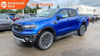 New 2020 Ford Ranger LARIAT 501A | 2.3L EcoBoost | Adaptive Cruise Control | Heated Leather Seats | Adaptive Cruise Control | FX4 PKG | Trailer Tow PKG | Sport Appearance PKG | Running Boards | Rear View Camera | for sale in Edmonton, AB