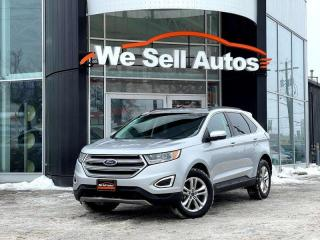 Used 2017 Ford Edge SEL 4dr AWD Sport Utility for sale in Winnipeg, MB