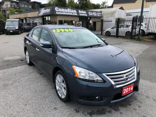 Used 2014 Nissan Sentra SL  1.8L 130HP CVT AUTO for sale in Langley, BC