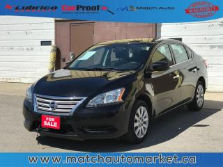Used 2014 Nissan Sentra S for sale in Winnipeg, MB