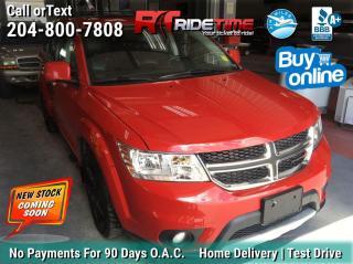 Used 2014 Dodge Journey R/T for sale in Winnipeg, MB