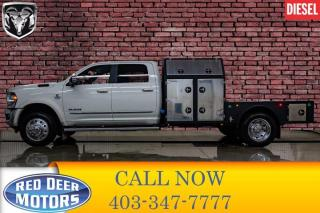 Used 2019 RAM 5500 4x4 Crew Cab Limited Deck Dually Diesel AISIN for sale in Red Deer, AB