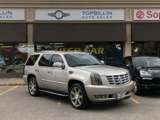 Used 2007 Cadillac Escalade AWD, Only 135K km, 2 Years Warranty for sale in Vaughan, ON