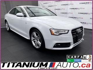 Used 2017 Audi A5 Technik S-Line+GPS+Adaptive Cruise+Blind Spot+Came for sale in London, ON