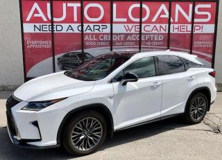Used 2016 Lexus RX 350 F Sport-ALL CREDIT ACCEPTED for sale in Scarborough, ON