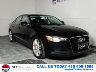 Used 2014 Audi A6 2.0T Progressiv AWD Nav Sun BlindSpot Certified for sale in Toronto, ON