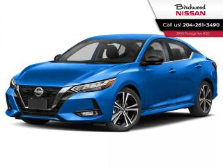 New 2020 Nissan Sentra SR for sale in Winnipeg, MB