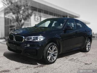 Used 2017 BMW X6 xDrive35i M-Sport Nappa Enhanced for sale in Winnipeg, MB