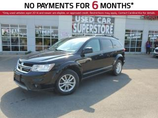Used 2014 Dodge Journey SXT, 7 Passenger, DVD Player, Sunroof, Remote Star for sale in Niagara Falls, ON