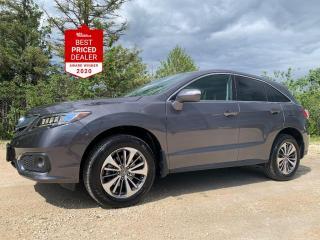 Used 2017 Acura RDX AWD ELITE *NAV - ADAPTIVE CRUISE - ARRIVING SOON* for sale in Winnipeg, MB