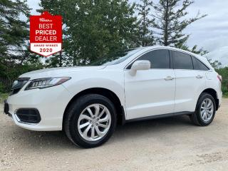 Used 2017 Acura RDX AWD TECH PKG *NAV - SUNROOF - ADAPTIVE CRUISE* for sale in Winnipeg, MB