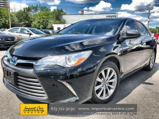 Used 2016 Toyota Camry HYBRID XLE HYBRID ONLY 66KKMS!!  LEATHER  ROOF  NAVI  BLI for sale in Ottawa, ON