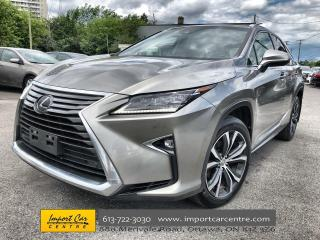 Used 2017 Lexus RX 350 LUXURY PACK  LEATHER  ROOF  NAVI  BLIS  BACKUP CAM for sale in Ottawa, ON