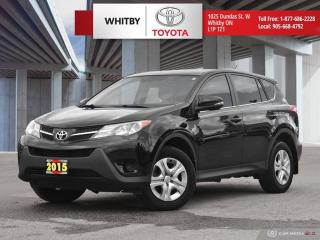 Used 2015 Toyota RAV4 LE for sale in Whitby, ON