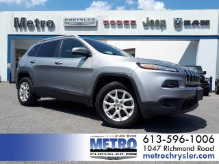 Used 2016 Jeep Cherokee North 4X4 GPS Remote Start for sale in Ottawa, ON