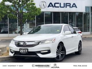 Used 2017 Honda Accord Sedan L4 Touring CVT for sale in Markham, ON