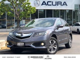 Used 2017 Acura RDX Elite at for sale in Markham, ON