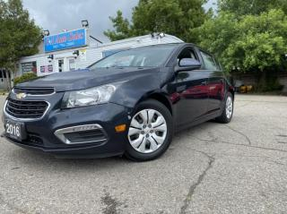 Used 2016 Chevrolet Cruze Limited 4dr Sdn LT w/1LT SUNROOF AND BACK IP CAM for sale in Brampton, ON