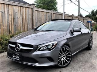 Used 2018 Mercedes-Benz CLA-Class CLA 250 4MATIC PREMIUM SPORT-PANOROOF-CAM-NAVI-35KMS for sale in Toronto, ON