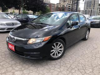 Used 2012 Honda Civic 4dr Auto EX-L With Navigation for sale in Markham, ON