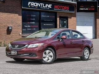 Used 2013 Honda Civic 4dr Auto LX for sale in Scarborough, ON