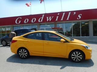 Used 2015 Hyundai Accent SE! BLUETOOTH! SUNROOF! for sale in Aylmer, ON