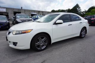 Used 2009 Acura TSX TECH PACKAGE NAVI CAMERA CERTIFIED 2 YEAR WARRANTY BLUETOOTH SUNROOF MEMORY HEATED LEATHER for sale in Milton, ON