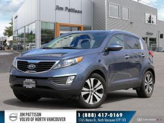 Used 2011 Kia Sportage EX Luxury - LOCAL - ONE OWNER for sale in North Vancouver, BC