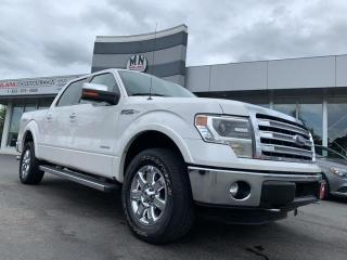 Used 2014 Ford F-150 Lariat 4WD ECO-BOOST NAVI SUNROOF REAR CAMERA LIKE for sale in Langley, BC