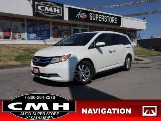 Used 2016 Honda Odyssey EX-L w/RES  NAV ROOF LEATH CAM P/SEATS HS for sale in St. Catharines, ON