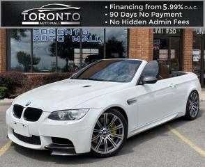 Used 2008 BMW M3 Convertible Akrapovic Exhaust NAVI Leather Clean Carfax Rod Bearings Done for sale in North York, ON