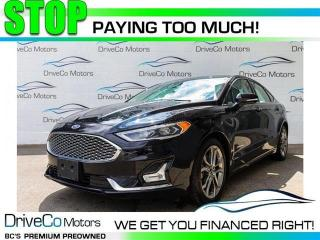 Used 2019 Ford Fusion Hybrid Titanium  - Hybrid -  Leather Seats for sale in Coquitlam, BC