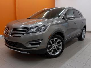 Used 2017 Lincoln MKC SELECT AWD *BAS KM* CAMERA *SIEGES CHAUF* PROMO for sale in St-Jérôme, QC
