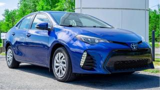 Used 2017 Toyota Corolla CE for sale in Embrun, ON