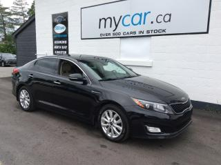 Used 2015 Kia Optima EX LEATHER, DUAL ROOF, NAV, HEATED/COOLED SEAT!! for sale in Richmond, ON