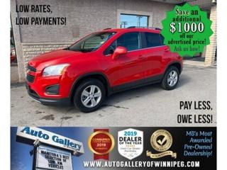 Used 2015 Chevrolet Trax AWD* load/Alloys for sale in Winnipeg, MB