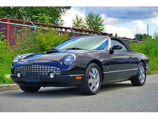 Used 2003 Ford Thunderbird 2Dr Convertible for sale in Vancouver, BC