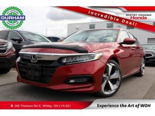 Used 2020 Honda Accord Touring 2.0 | Automatic | Heads Up Display for sale in Whitby, ON
