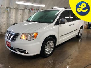 Used 2014 Chrysler Town & Country Limited * Power Sunroof * Dual DVD/Blu-ray Entertainment * Garmin Navigation System * Power Liftgate *  ParkView rear back up camera * Lux Greystone L for sale in Cambridge, ON