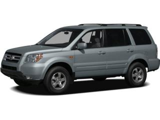 Used 2008 Honda Pilot SE-L Accident Free, Low KM 2008 Honda Pilot EX-L! Includes Rear Entertainment System with 2 headsets! Bei for sale in Waterloo, ON
