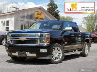 Used 2015 Chevrolet Silverado 1500 High Country C.Start, 4X4,Nav.,H/C. Seats for sale in Brandon, MB