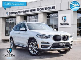 Used 2020 BMW X3 xDrive30i COVID-19 INSTANT CREDIT, SEE DEALER FOR DETAILS | NO PAYMENTS FOR 90 DAYS OAC for sale in Aurora, ON