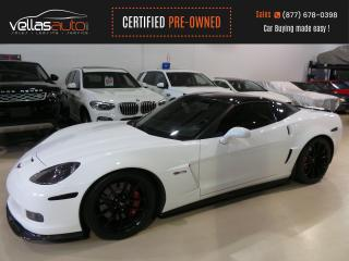 Used 2007 Chevrolet Corvette Z06 Fixed Roof Z06| 604 RWHP| NAVIGATION for sale in Vaughan, ON