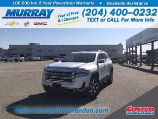 New 2020 GMC Acadia SLE for sale in Brandon, MB
