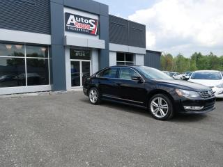 Used 2015 Volkswagen Passat 1.8 TSI Auto Highline + GPS + INSPECTÉ for sale in Sherbrooke, QC