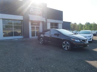 Used 2015 Honda Civic Si BERLINE 4 PORTES + INSPECTÉ + GPS for sale in Sherbrooke, QC