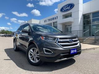 Used 2016 Ford Edge SEL for sale in St Thomas, ON
